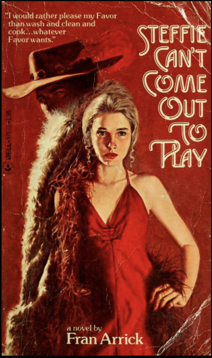 book cover: Steffie Can't Come Out to Play